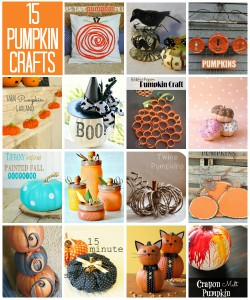 Pumpkin Crafts 2014 via Snap Creativity