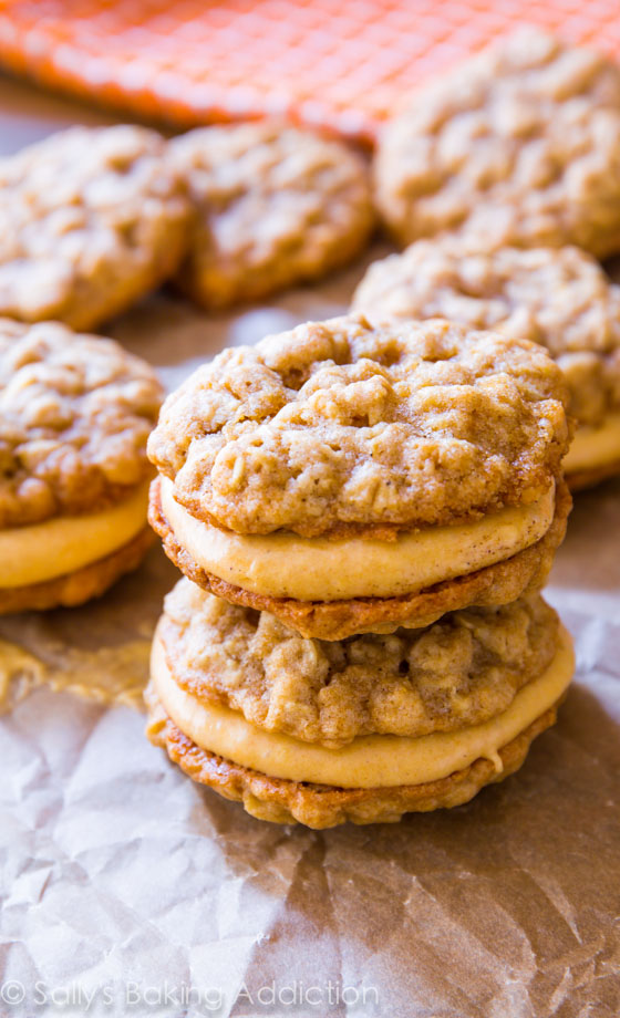 Sallys baking addiction oatmeal pumpkin creme pies 3