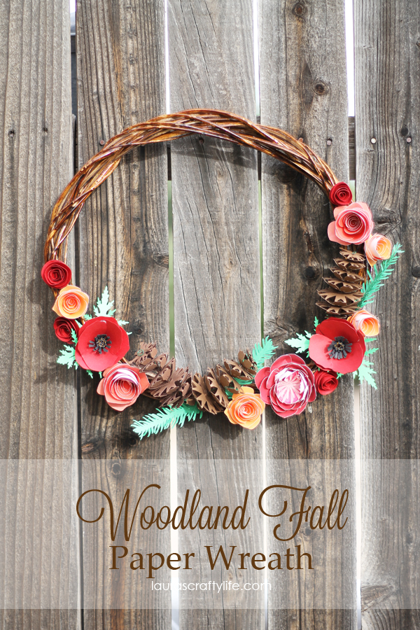 Woodland-Fall-Paper-Wreath-by-Lauras-Crafty-Life-CricutExplore-CricutDesignSpace