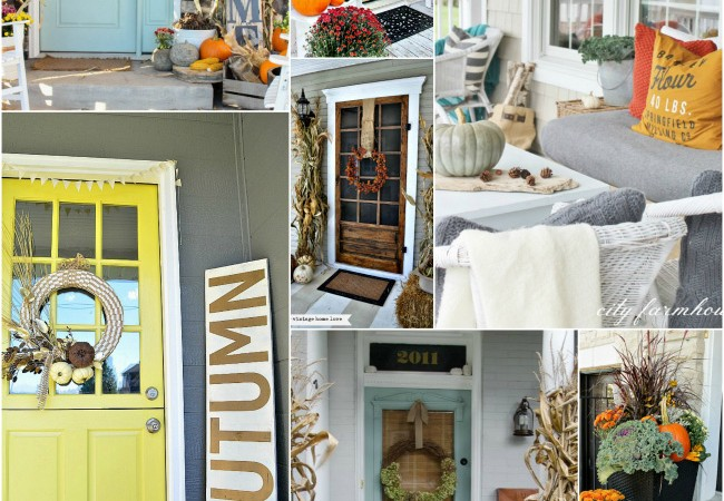 Fabulous Fall Porches