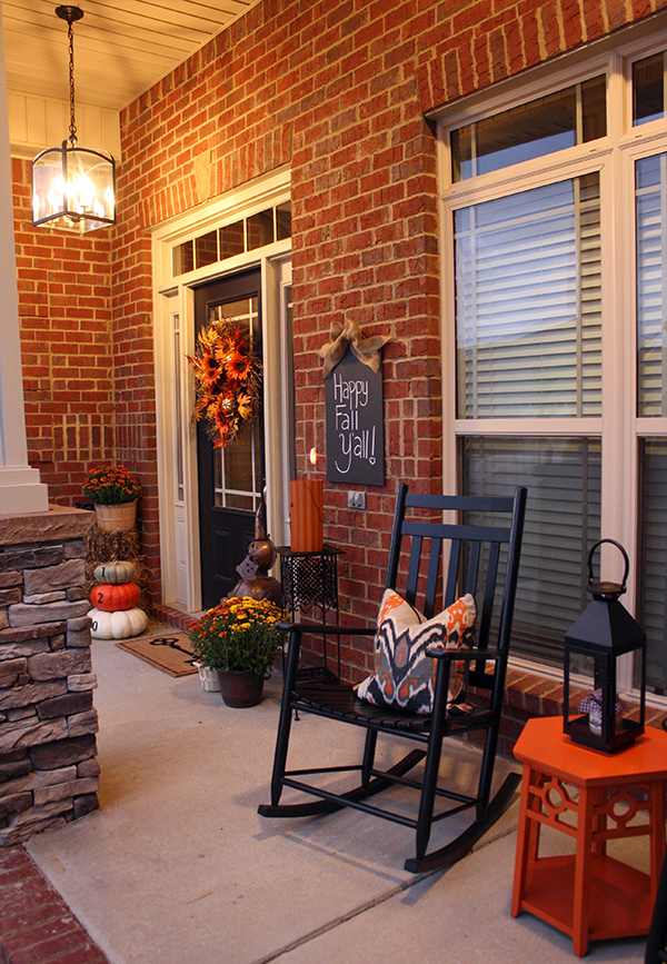 Fabulous fall porches tauni co Beautiful fall front porches