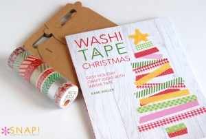 Book Review: Washi Tape Christmas by Kami Biggler @nobiggie