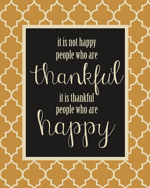 thankful people who are happy printable