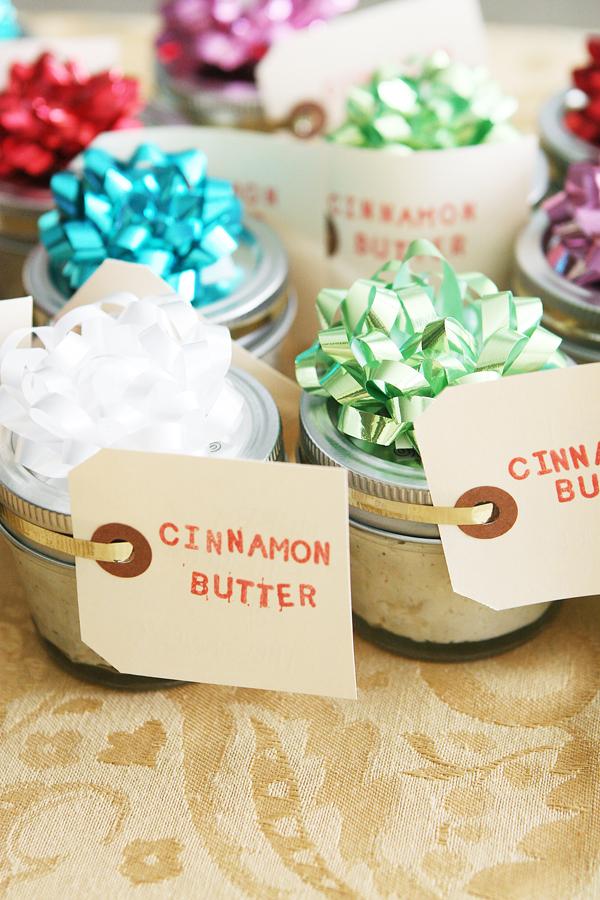 cinnamon butter neighbor gift