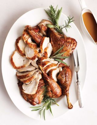 roast spatchcocked turkey