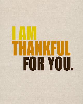 thankful for you printable