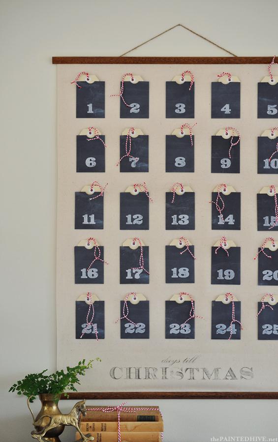 Christmas wall chart