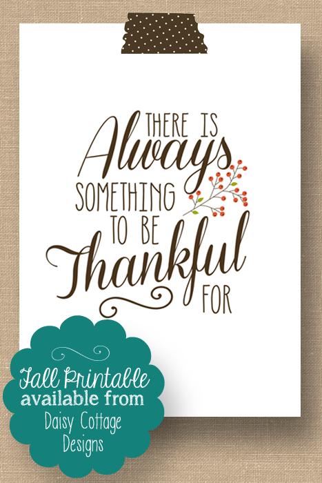 always be thankful printable