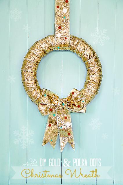 Diy christmas wreath www the36thavenue com 424x640
