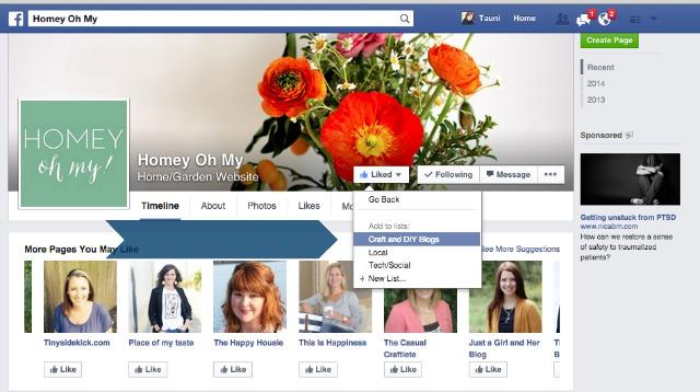 Facebook Interest Lists 11