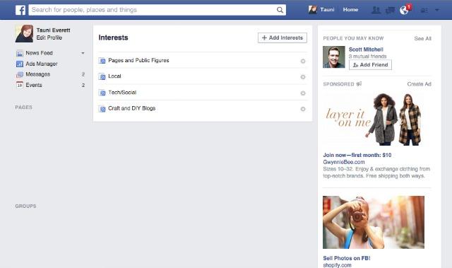 Facebook Interest Lists 2