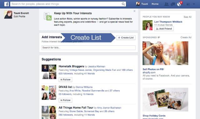 Facebook Interests 5