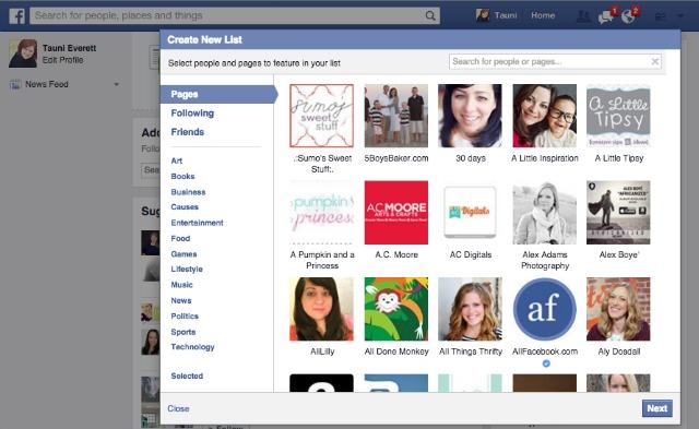 Facebook Interests 6