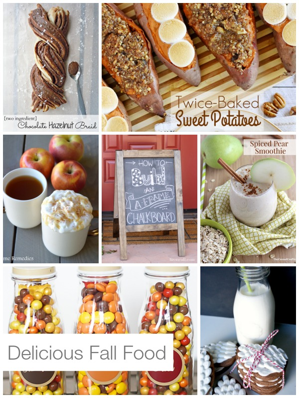 Fall food highlights. Each of these recipes is an amazing representation of fall