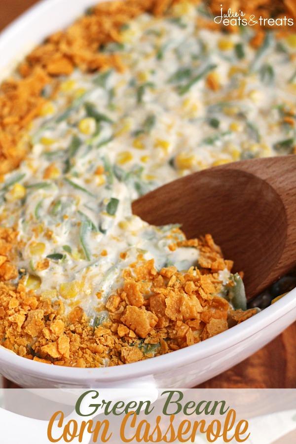 green bean corn casserole