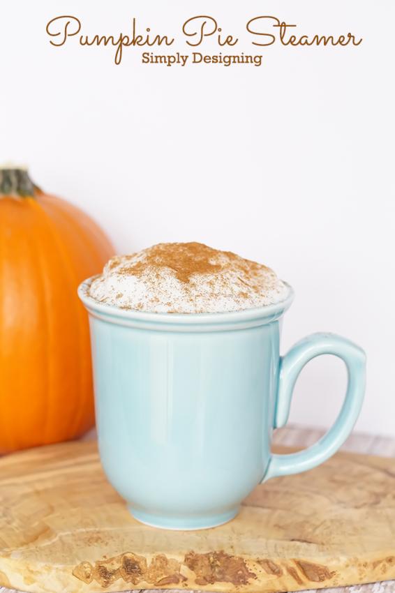 Pumpkin steamer recipe via @simplydesigning
