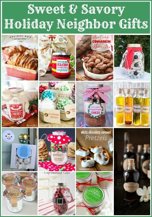 Sweet & Savory Holiday Neighbor Gifts via SnapCreativity.com