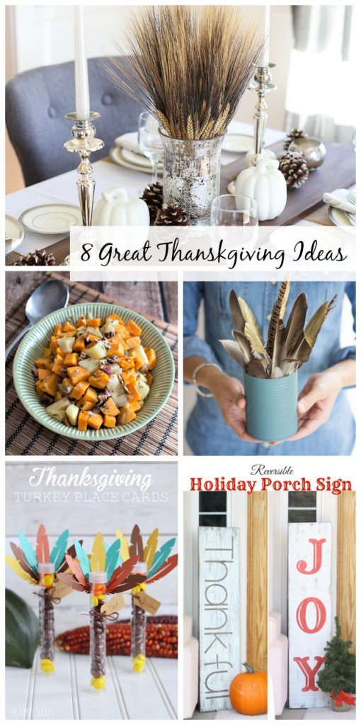 8 great ideas for Thanksgiving via @snapconf