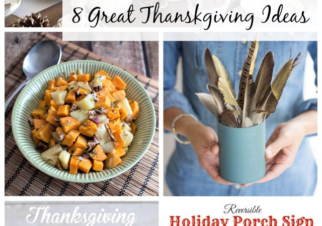 Show + Tell No. 141: Thanksgiving Ideas