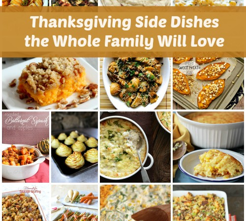 Thanksgiving Side Dishes the Entire Family Will Love