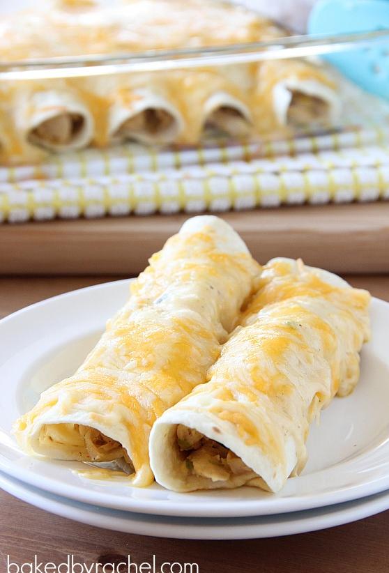 Turkey Enchiladas   Baked by Rachel
