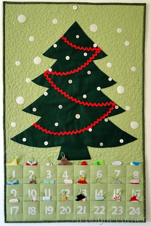 wall advent calendar