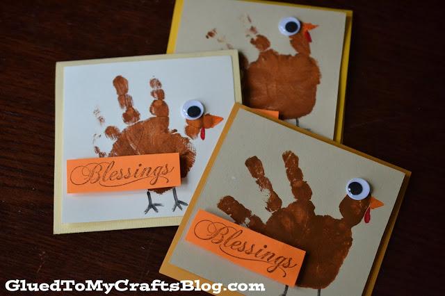 Thanksgiving cards kids craft