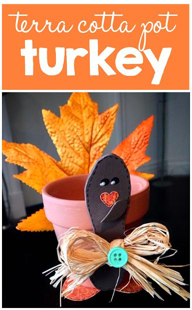 terra cotta pot turkey