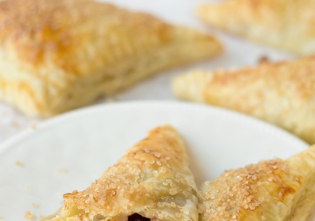 Cranberry Sauce Hand Pies