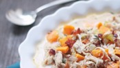 smoky bacon and turkey chowder