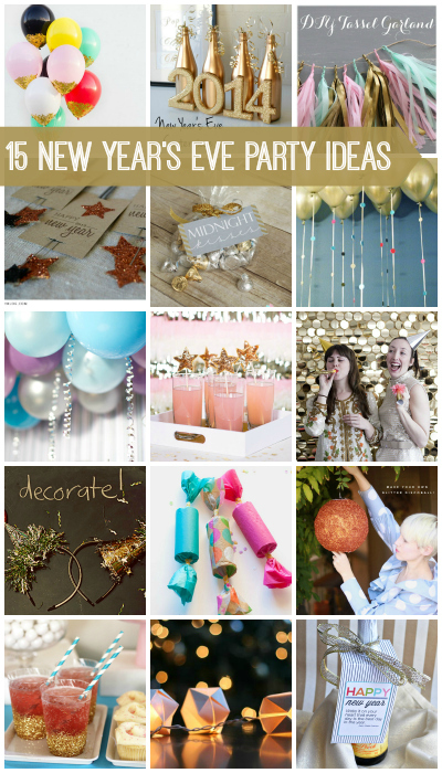 15 New Years Eve Party Ideas