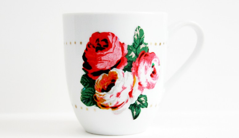 Dishwasher Safe Hand Decorated Mug