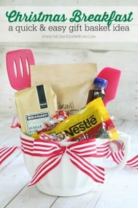 Christmas Breakfast Gift Basket