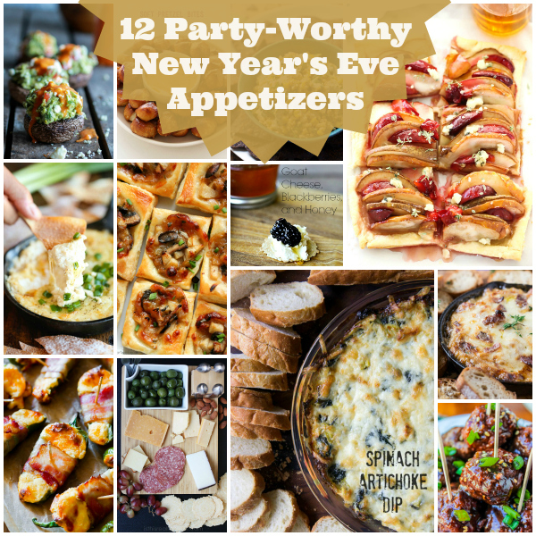 12 Party-Worthy New Years Eve Appetizers