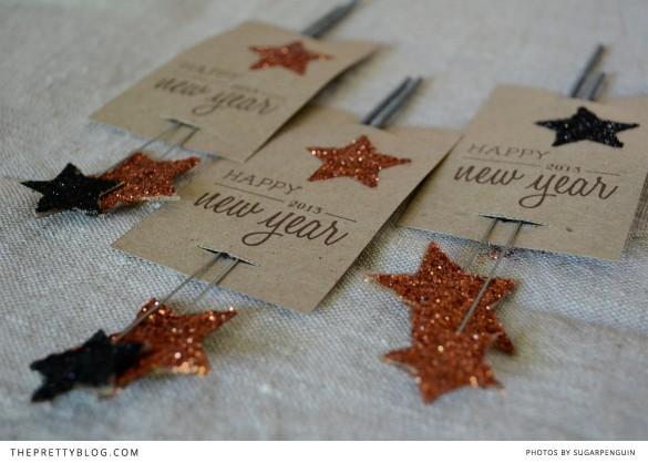 New Year Sparkle DIY