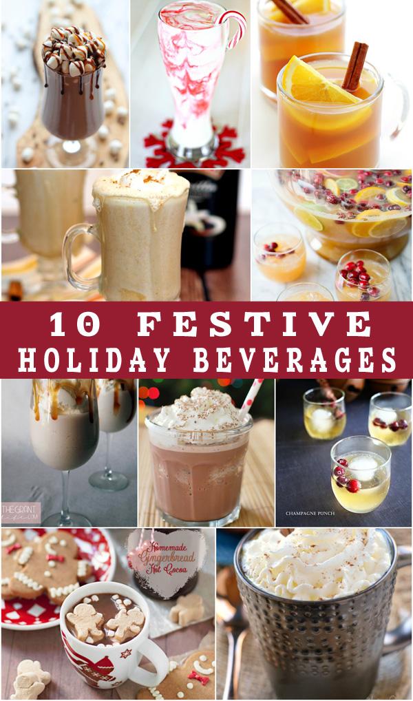 10 Festive Holiday Beverages