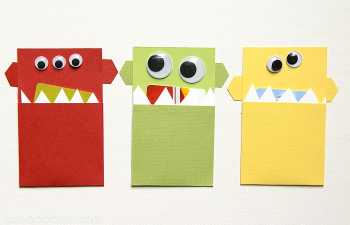Monster Gift Card Holders