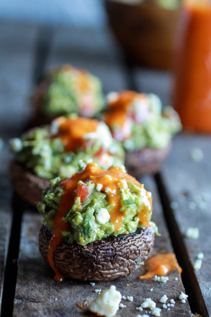 stuffed mushrooms New Years Eve appetizer