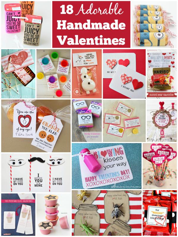 18 Adorable Handmade Valentines