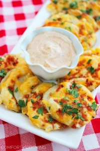 cheesy bacon oven chips