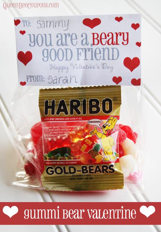 gummi bear valentines