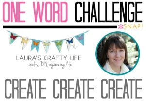 One Word Goal Lauras Crafty Life
