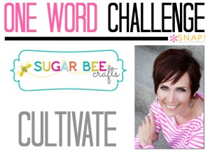 One Word Goal Sugar Bee Crafts
