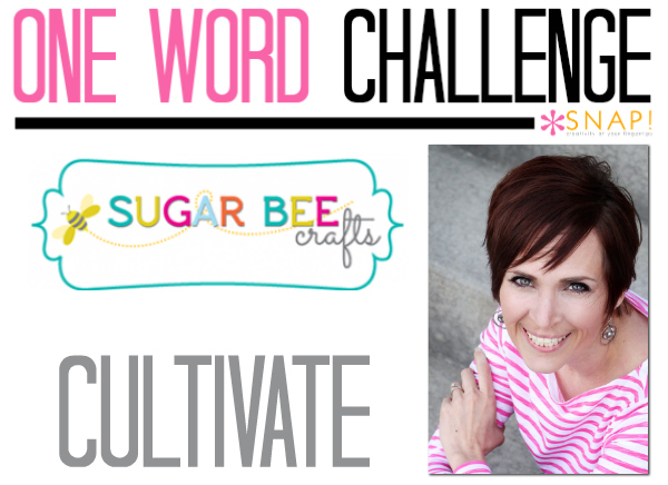 One Word Goal: Sugar Bee Crafts