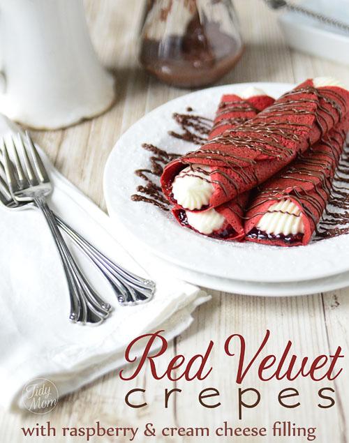 red velvet crepes