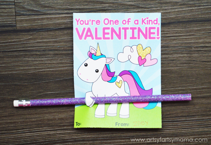 Unicorn_Valentine_Pencil