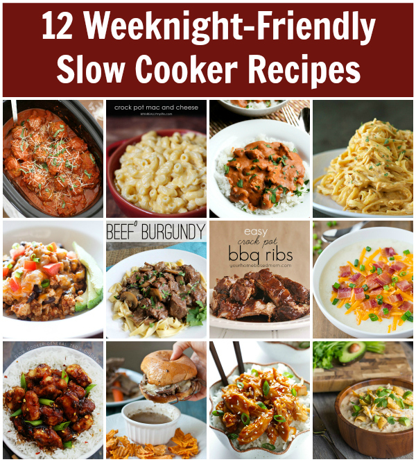12 Weeknight-Friendly Slow Cooker Recipes