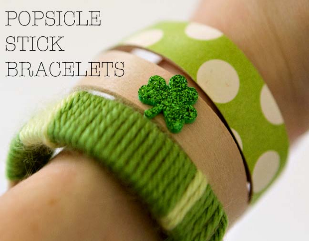 Kid Craft Bracelets For St. Paddys Day Momtastic