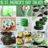St Patricks Day Treats via Snap Creativity