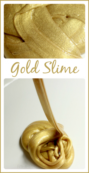 st patricks day gold slime